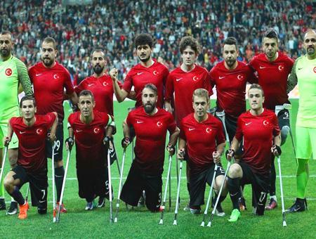 Seleccion turca futbol amputados