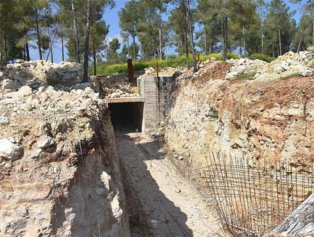 Siria afrin base subterranea