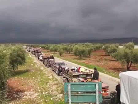 Siria afrin civiles kurdos