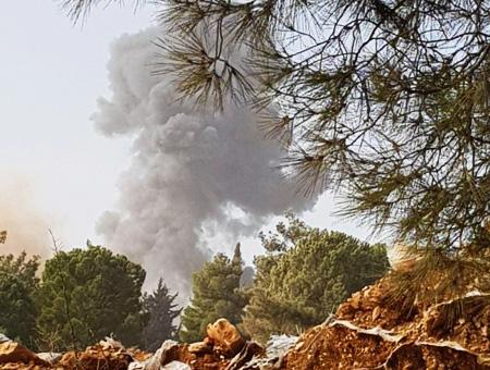 Siria bombardeos afrin bersaya
