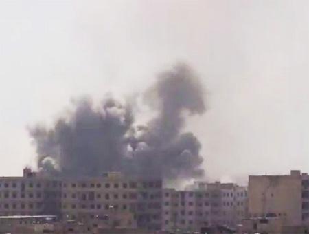 Siria bombardeos guta este