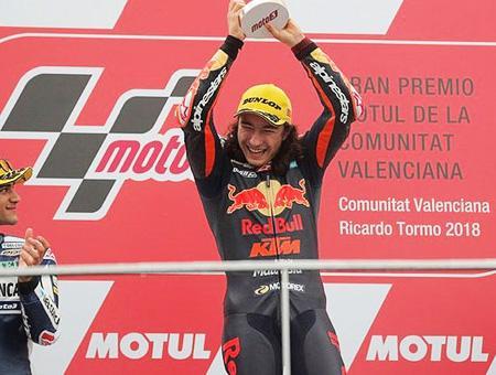 Valencia can oncu campeon moto3