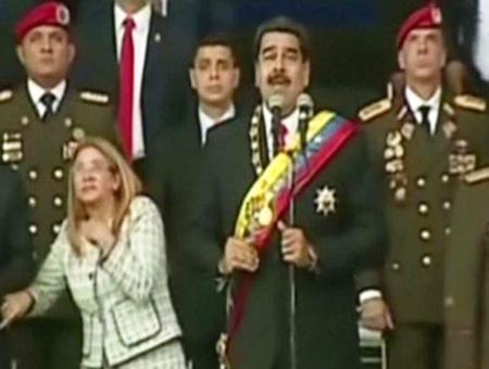 Venezuela atentado nicolas maduro