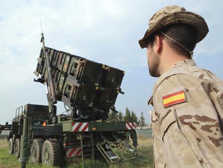 Adana misiles patriot espana