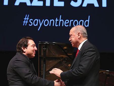 Ankara erdogan concierto fazil say
