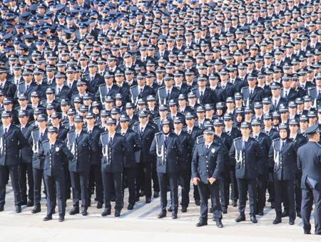 Ankara policia turca ceremonia anitkabir