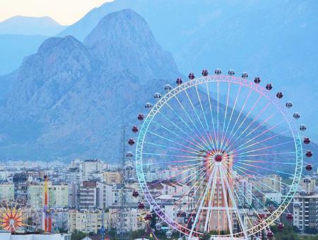 Antalya noria gigante