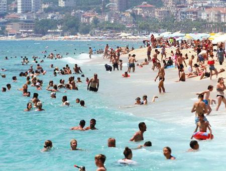 Antalya playas turistas