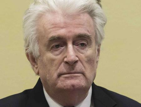 Bosnia radovan karadzic condena