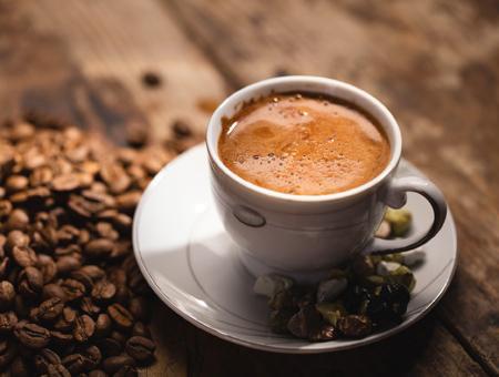 Cafe turco taza