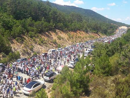 Canakkale protesta mina oro