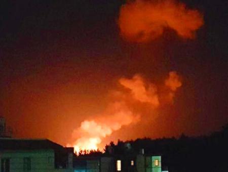 Chipre explosion incendio arsenal