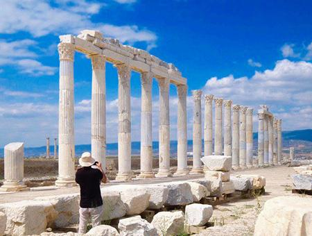 Denizli ruinas antigua laodicea