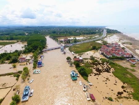Duzce inundaciones riadas