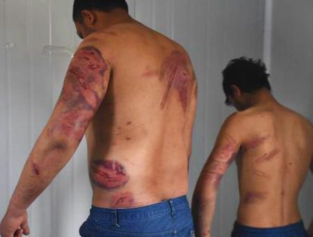 Edirne inmigrantes golpeados grecia