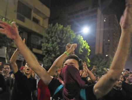 Egipto protestas sisi corrupcion