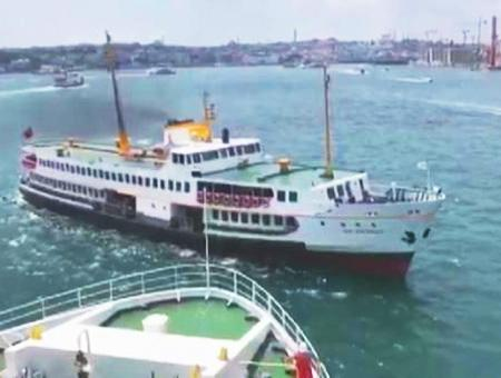 Estambul bosforo choque barcos