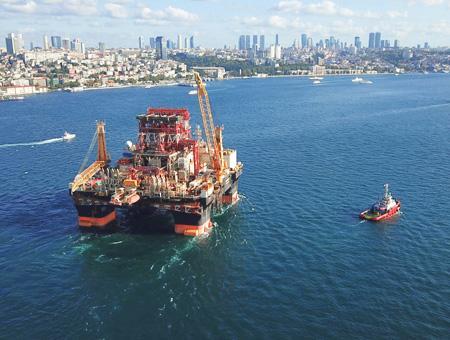 Estambul bosforo plataforma petrolifera