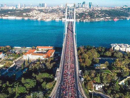 Estambul maraton eurasia puente bosforo