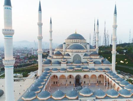 Estambul mezquita camlica