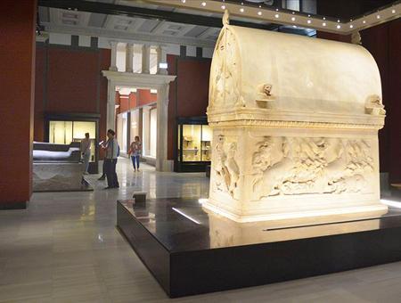 Estambul museo arqueologico sarcofago