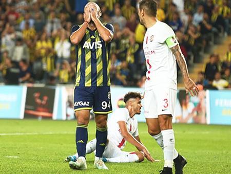 Fenerbahce antalyaspor derrota partido