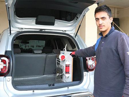 Gaziantep mecanico inventor motor agua
