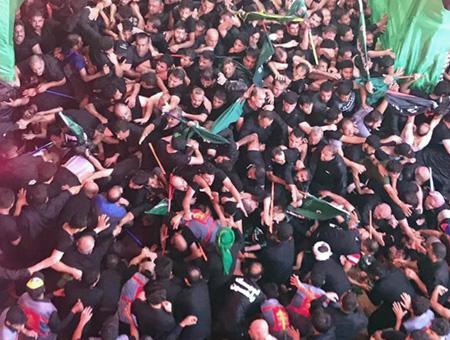 Irak kerbala estampida muertos