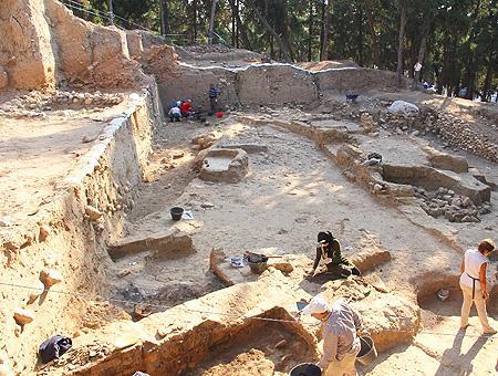 Mersin yacimiento arqueologico yumuktepe