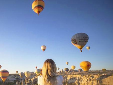 Nevsehir capadocia vuelo globos