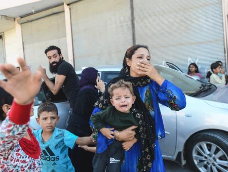 Sanliurfa akcakale ataque cohetes siria