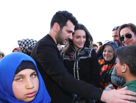 Siria iftar actor turco murat yildirim