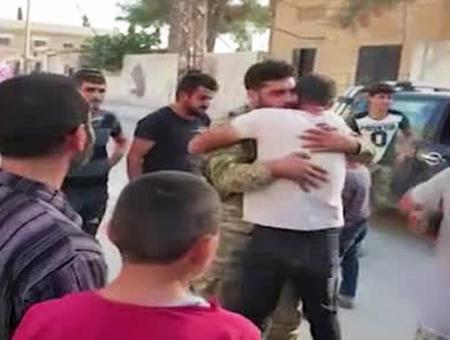 Siria tel abyad recibimiento sna