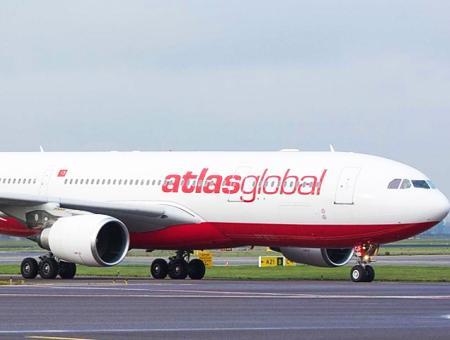 Aerolinea atlasglobal atlasjet avion