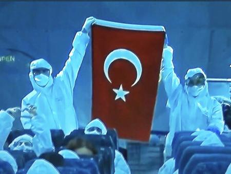 Ankara turcos repatriados china coronavirus