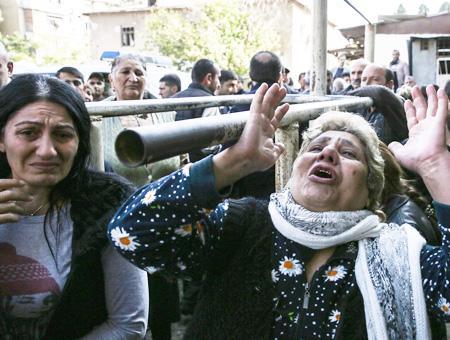 Azerbaiyan victimas civiles bombardeos armenia