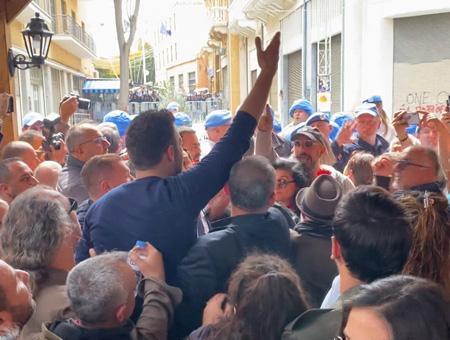 Chipre protestas zona neutral coronavirus