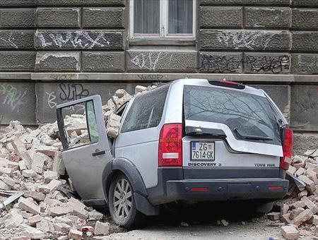 Croacia terremoto derrumbe