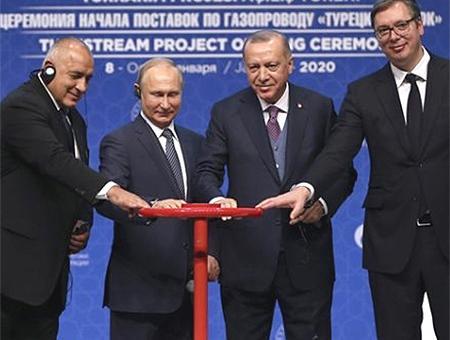 Erdogan putin turk stream