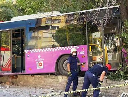 Estambul accidente autobus