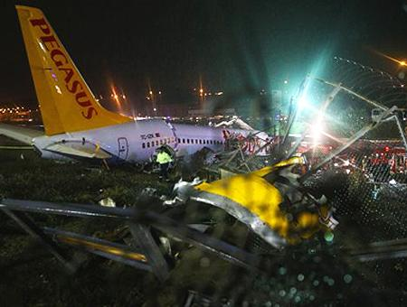 Estambul accidente avion pegasus