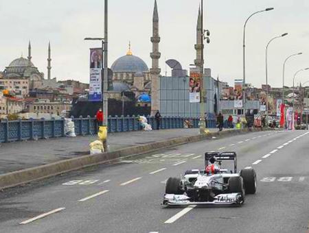 Estambul coche carreras f1