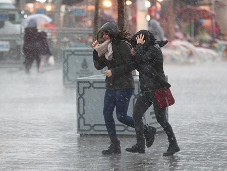 Estambul lluvias temporal