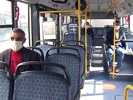 Estambul mascarillas autobus coronavirus