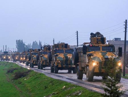 Hatay convoy militar siria