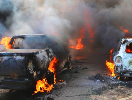 Siria atentado ypg afrin