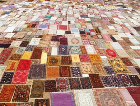Turquia alfombras sol