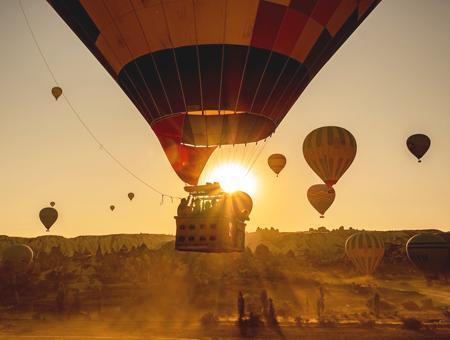 Turquia capadocia viaje globo