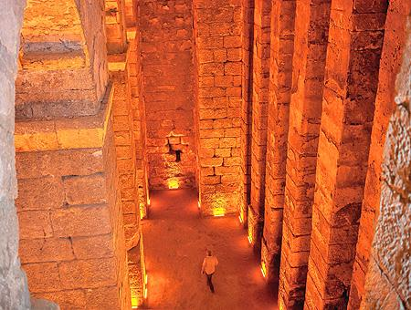 Turquia cisterna bizantina mardin dara