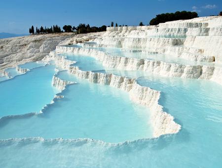 Turquia denizli terrazas pamukkale